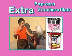 animazione roma zucchero filato
