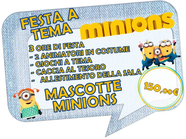 MINIONS FESTA A TEMA