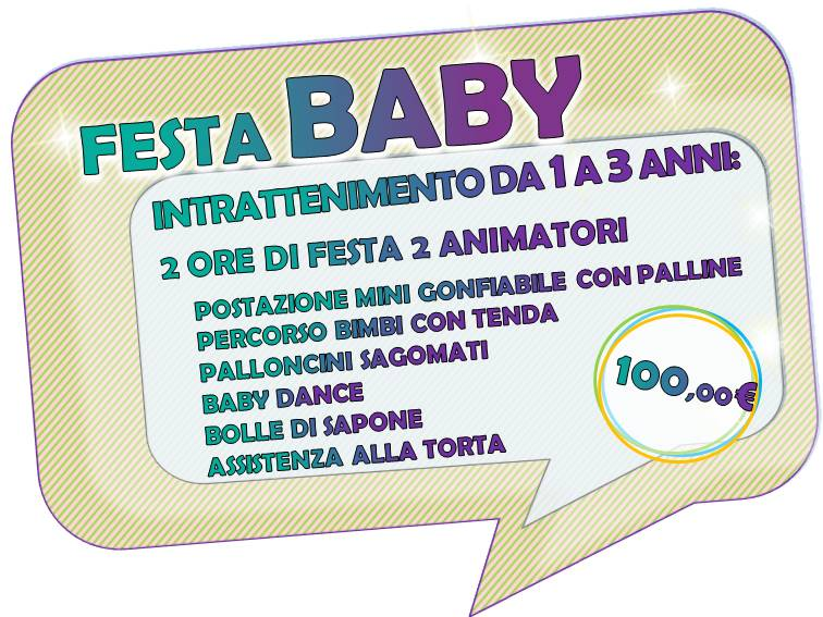 festa dai 0 ai 3 anni baby festa party