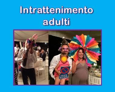intrattenimento festa adulti