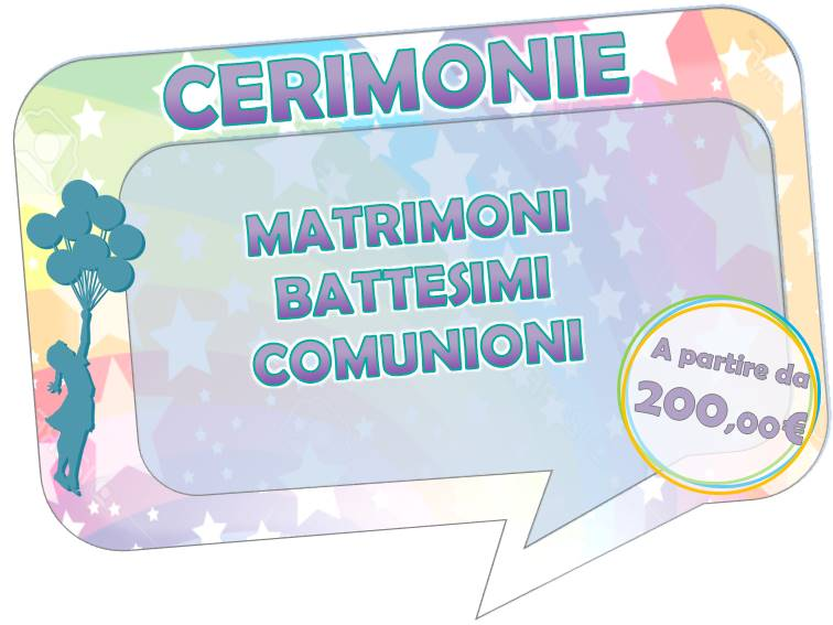 tuttinfesta roma comunioni matrimonio battesimi