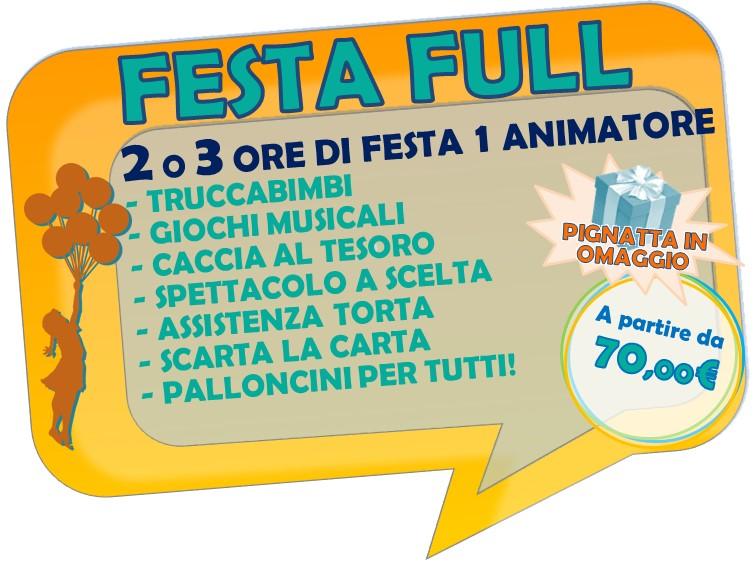 FESTA FULL 2 ORE