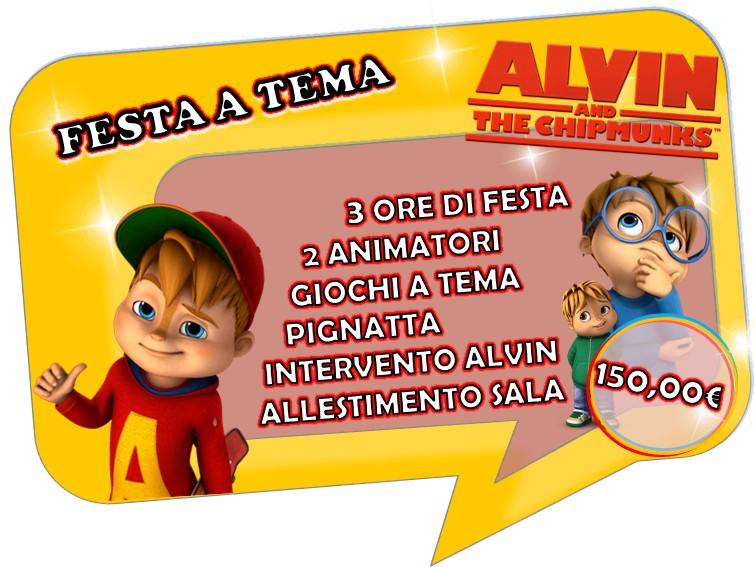 FESTA A TEMA ALVIN